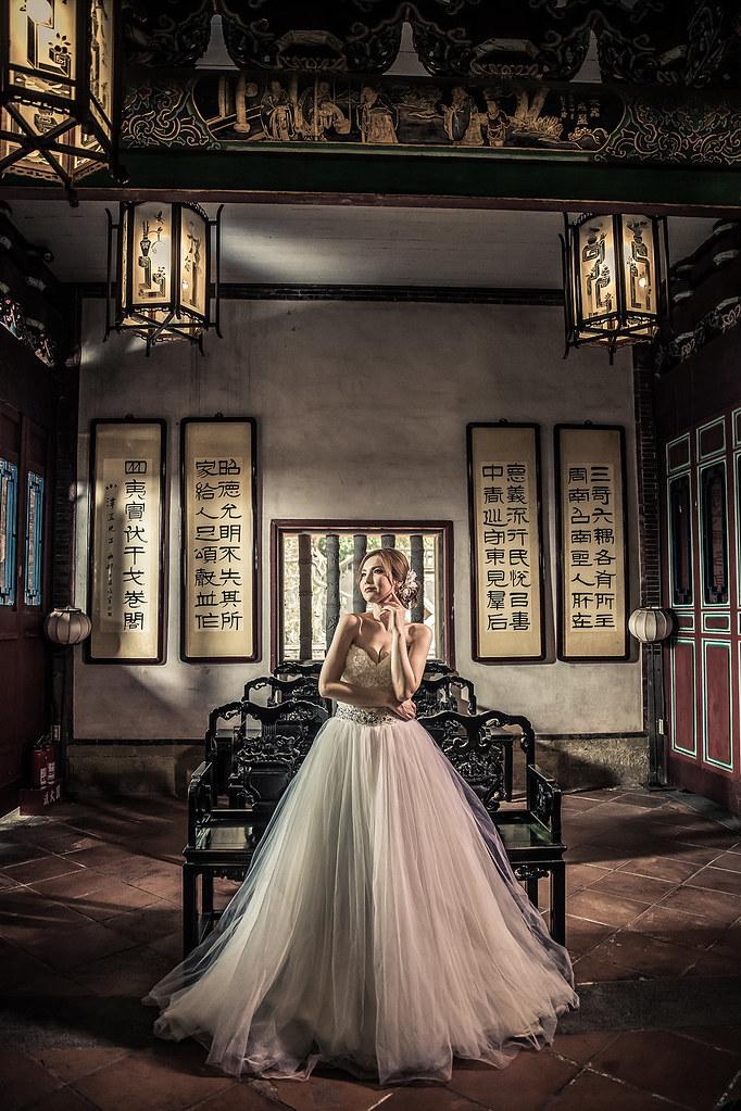 6873婚紗攝影-婚紗照-台北-林安泰古厝-暗黑風