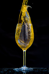 Splash (Roopesh P) Tags: splash water highspeed art wineglass experiment nikon d750