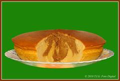 Tarta de queso con cacao (T.I.G. Foto Digital) Tags: comida tartas tartadequeso postres platos deliciosa colores pasteles cocina merenge bizcochos dulces cremas cacao apetitoso bonito tentador aromatico aromas sabroso dulzor cremosidad