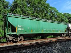 BRIX 97298 (Proto-photos) Tags: coveredhopper rollingstock railcar freightcar train railroad 3bay incobrasaindustriesltd brix 97298 connellsville pennsylvania lo c114 60ft