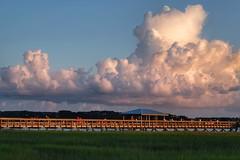 Southern Delight (ipadzwochris) Tags: clouds colour sun light evening sky independenceday portroyal beaufort reise travel unitedstates southcarolina usa