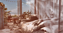 Summer hideout 2 of 3 (NatG loving the light) Tags: ariskea concept fancydecor mudhoney scarletcreative stockholmlima sway´s thor soy vespertine raindale tlc wmw nutmeg lagom bazar shinyshabby kustom9 fameshed uber