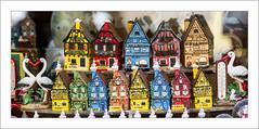 Panoramique d'un village typiquement Alsacien ;-) (Francis =Photography=) Tags: europa europe france grandest alsace hautrhin 68 riquewihr miniature maison cigogne panorama pano panoramique house haus storch stork