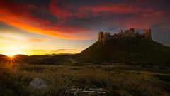 Castillo de Montearagón (www.jorgelazaro.es) Tags: castillo ruina cielo landscape sunset nubes montearagón naturaleza sol campo atardecer huesca paisaje quicena aragón españa es