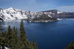 Crater Lake, Oregon (Seoulwoman) Tags: crater lake oregon snow water