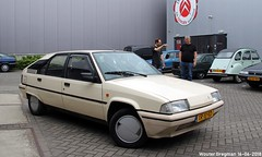 Citroën BX 19 TRI 1989 (XBXG) Tags: xr10rd citroën bx 19 tri 1989 citroënbx white blanc crémant bxclub meeting xenonstraat almere nederland netherlands holland paysbas youngtimer old classic french car auto automobile voiture ancienne française vehicle outdoor