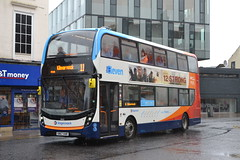 Stagecoach Western 10923 SN67XAR (Will Swain) Tags: irvine 10th march 2018 west scotland scottish town centre bus buses transport travel uk britain vehicle vehicles county country stagecoach western 10923 sn67xar