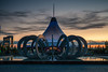 The Circus (Andrew G Robertson) Tags: astana kazakhstan khan shatyr mall shopping sunset