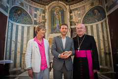 A relic of Pope Clement I is restored to Westminster Cathedral (Catholic Church (England and Wales)) Tags: a relic pope clement i is restored westminster cathedral