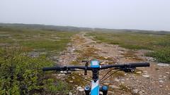Foggy trail (GeirB,) Tags: finnmark friskifinnmark uteliv varanger vadsø vadsoe østfinnmark training sweethelmet spiuk fog tåke nordnorge northernnorway scandinavia arctic 70north trail trening