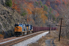 CSX1395 (ex127so) Tags: csx wv 2006 doegully sd70mac