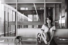 ILFORD DELTA 400 (5) (Waynegraphy) Tags: waynegraphy waynelee nikon nikonf3 50mmf18d 50mm ilford ilforddelta film 35mm malaysia girl ladies blackandwhite