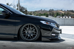 Bagged Honda Accord Coupe w/ Ace Mesh 7 (ACEALLOYWHEEL/AMF FORGED) Tags: hondaaccord accordcoupe 9thgenaccord bagged jdm airliftperformance lifeonair acealloywheels acewheels aceflowform mesh7 wheels rims tires import