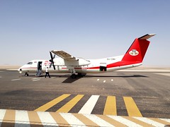 al kharja airport  - Egypt (paolopalmaflick) Tags: egypt airport airplane northafrica color
