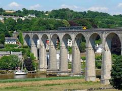 150234 Calstock Viaduct (9) (Marky7890) Tags: gwr 150234 class150 sprinter 2g76 calstockviaduct railway cornwall calstock tamarvalleyline train