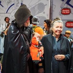 Older Luke & Leia (Kevin Baird) Tags: 2018 comiccon cosplay costume generalorgana leia lukeskywalker sandiego sandiegocomiccon sdcc starwars