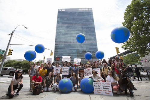 UN Protest, New York City - June 20th