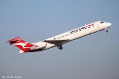 Qantas Link B717 in Sydney, 23-04-2018 (PeterBrabant) Tags: vhnxq b717 qantas link sydney syd