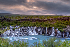 Lava-Falls- (deanallanphotography) Tags: adventure anawesomeshot artisticexpression beauty colors cascade clouds midnight expression flickrsbest fab ngc iceland impressedbeauty landscape light natgeo nature outdoor outdoors photography peaceandquiet peaceful panorama quiet rock river travel texture view water waterfall