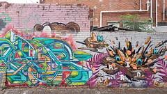 Nor & Knock... (colourourcity) Tags: streetart streetarnow graffiti melbourne streetartmelbourne streetartaustralia awesome colourourcity nofilters burncity original hobby bored walking knock nock bb id nor nore norelord