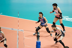 "DSC05071 (jeffreyng photography) Tags: fivb volleyballnationsleague volleyball 世界排球聯賽 vnl 女子排球 ""hong kong station"" 日本對意大利 japanteam ""italy team"""