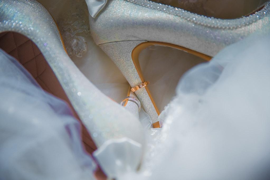 0009婚禮紀錄-婚攝-新莊典華-高跟鞋