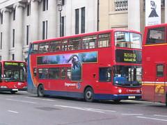 LX03OSJ Cockspur Street  8-12-05 (marktriumphman) Tags: transbus trident london