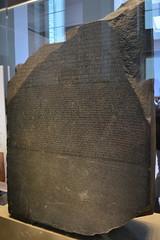 London, England, UK - British Museum - Ancient Egypt - Rosetta Stone (jrozwado) Tags: europe uk unitedkingdom england london museum britishmuseum history culture anthropology rosettastone egyptian