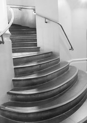 going up (grannie annie taggs) Tags: stairs steps staircase qvb sydney bw shining architecture building