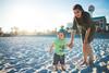 Beach Day (C.G.Photography) Tags: beach family boy child mom sand sky outdoors fun