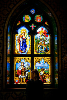 Our Lady of Pena Chapel Stained Glass