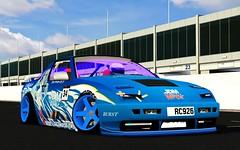 Blue Princess (BATUHANSEVIK) Tags: clubtandem jdmworks tandem twin rc926 me xrt xr car drift speed for live lfs