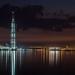Nightscape near the gulf
