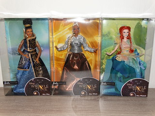New dolls - Barbie Wrinkle in Time Mrs. Who, Mrs. Which, Mrs. Whatsit