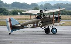 G-CCBN (goweravig) Tags: gccbm swanseaairport wnas18 replica visiting aircraft se5a thegreatwarteam biplane swansea wales uk