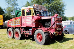 Harris's Amusements 1951 Scammell Explorer MWV153P Wiston Steam Rally 2018 (davidseall) Tags: harriss john harris amusements scammell scammel explorer 1951 mwv153p mwv 153p large heavy goods vehicle truck lorry british old wiston steam fair rally 2028