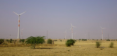 Wind turbine in Thar desert (phuong.sg@gmail.com) Tags: asia blue climate desert dune earth ecology electric electricity energy environment environmental fan generate generation generator global green india industry landscape mill nature outdoors plant power rajasthan rotate rotation sand saving sky station summer supply technology thar tower travel turbine warming wind windfarm windmill