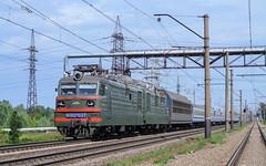 ВЛ82М-037 на перегоні Нова Баварія - роз'їзд 10 км (Max Naumov) Tags: вл82м037 вл82м 037 електровоз залізниця