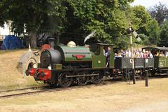 No 31  Fawley Hill 01/07/18 (Woolwinder) Tags: 060st no31 sirwilliammcalpine hudswellclarke fawleyhill berkshire england