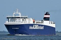 Ville de Bordeaux (Bernhard Fuchs) Tags: boat cargoships cargo cuxhaven elbe frachtschiffe nikon roro schiffe ship ships vessel frachtschiff roroschiff water schiff