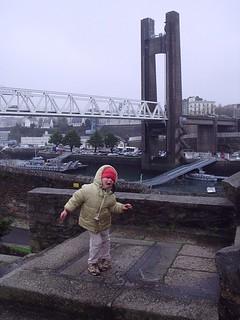 11/02/2K5 pont de la recouvrance Brest Bretagne