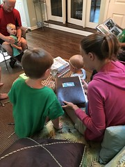 "Paul and Mommy Looks Through His Cousins Camp Album • <a style=""font-size:0.8em;"" href=""http://www.flickr.com/photos/109120354@N07/42431910404/"" target=""_blank"">View on Flickr</a>"