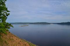 The spirit of the Volga river (МирославСтаменов) Tags: russia togliatti volga zhiguli river overlook cloudscape water slope