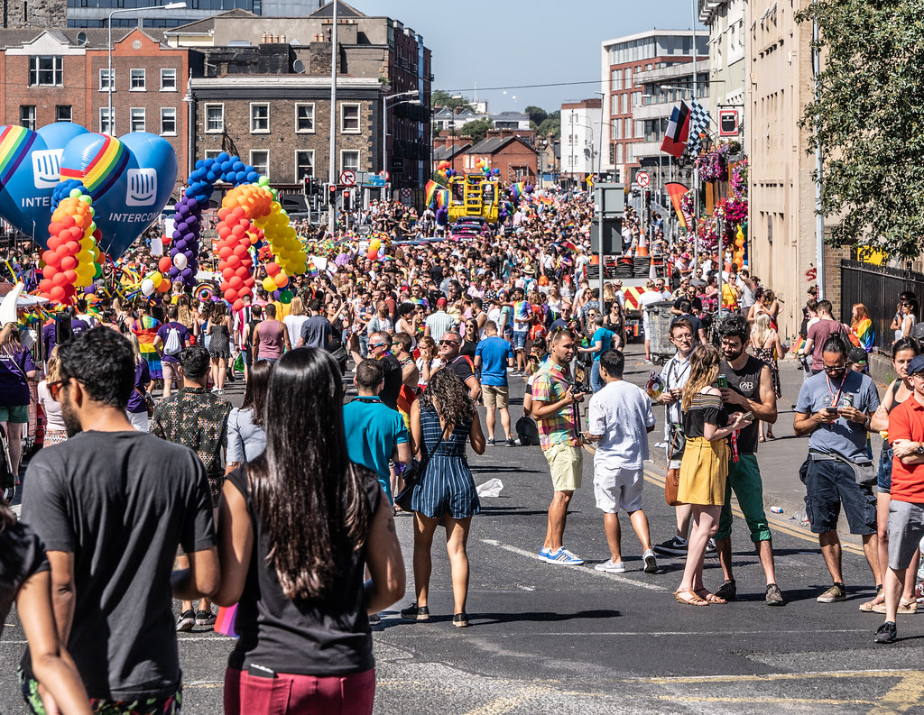 ABOUT SIXTY THOUSAND TOOK PART IN THE DUBLIN LGBTI+ PARADE TODAY[ SATURDAY 30 JUNE 2018] X-100281