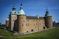 Kalmar Castle is a Swedish medieval castle located in the city of Kalmar