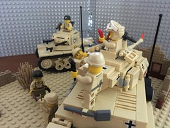 1942 Ranger Surprise MOC_09 (skaasz) Tags: lego brickmania afol legoww2 mto armyrangers ww2