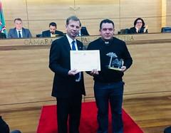 Homenagem - Prêmio Papa João Paulo II