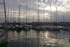 Molo Livorno (Zz manipulation) Tags: art ambrosioni zzmanipulation sea mare livorno porto molo barche sera