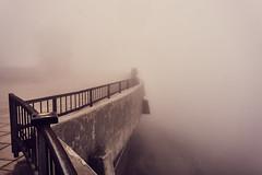 Selfie (murat_belge) Tags: fog selfie iphone stick rails mount washington whiteout lovers thick