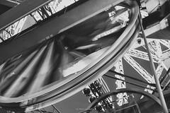 Significant motion (.KiLTRo.) Tags: paris îledefrance france fr kiltro eiffel tower eiffeltower wheel mechanics wire movement motion engineering structure architecture iron steel
